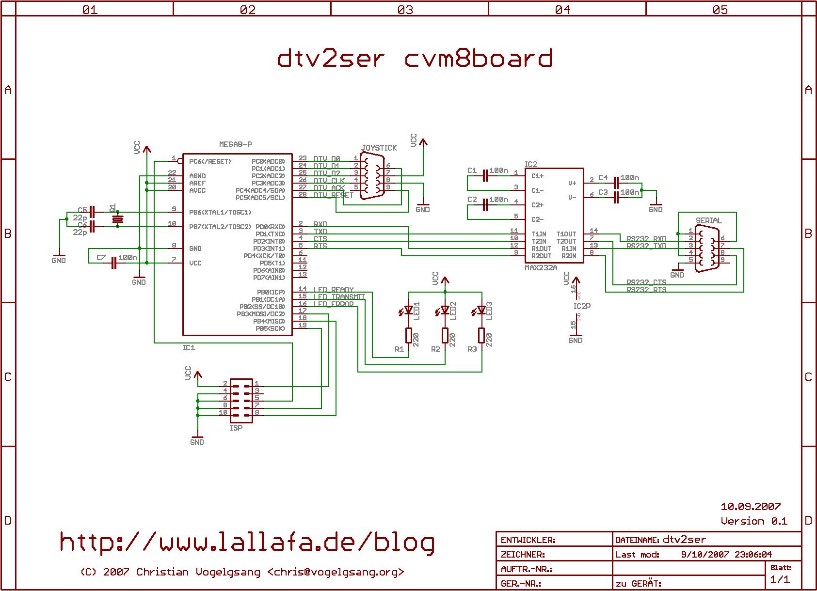 dtv2ser Hardware « Lallafa\'s Blog